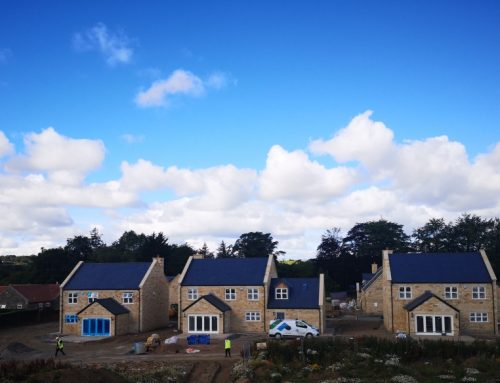 Limited properties remaining at luxury residential site