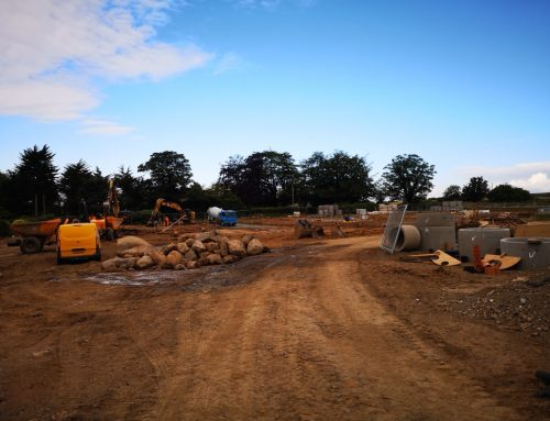 Construction work on-site begins at Lesbury