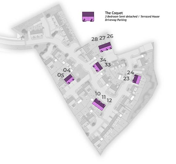 Coquet Site Plan
