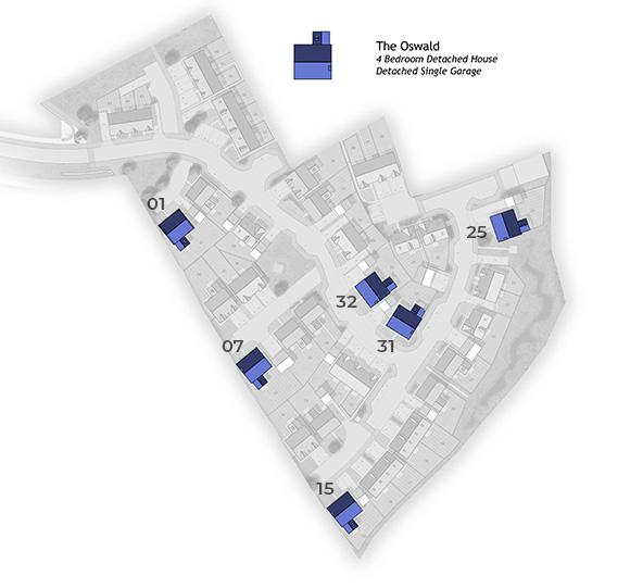 Oswald Site Plan